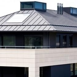 tejado zinc anthra unifamiliar
